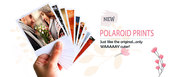 Customize your pictures to  Polaroid prints at 599 only  at Recapture.
