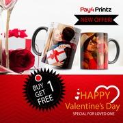 Buy One Mug Get One Mug Free For Valentine's Day