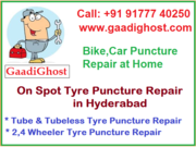 Tire Puncture & Repair Services in Hyderabad | Puncture Repair at Home