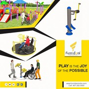 Inclusive playgrounds in affordable price