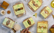 Premium Gourmet Snacks and dips from Earthy Bliss available across Del