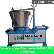 Stainless Steel Khoya Machine Manufacturers in India