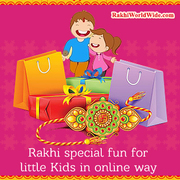 Send colourful Rakhis to your Brother in Canada