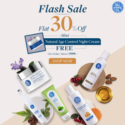 Flash Sale - Flat 30% Off on any Products and Get Age Control Night